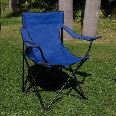 Sedia pieghevole acciaio poliestere e pvc blu Playa Papillon 55300