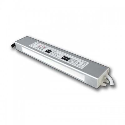 ALIMENTATORE STRISCE LED IMPERMEABILE ESTERNO 12V 30W IP65 1 USCITA V TAC VT-22030 3100