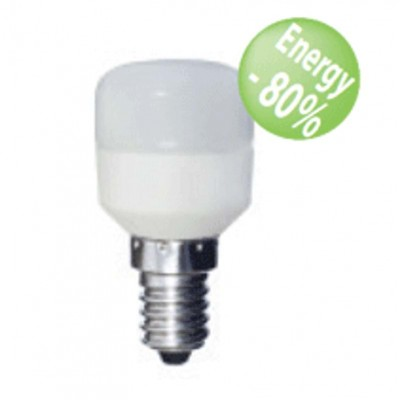Lampadine led per frigorifero E14 1,5W tubolare Luce fredda Shot Bot Lighiting SLD7102X1FR
