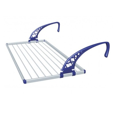 Stendibiancheria stendino balcone alluminio 110 cm Numero 1 24125
