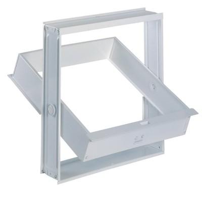 Telaio finestrella apribile vetromattoni vetrocemento 1 posto 19x19X8
