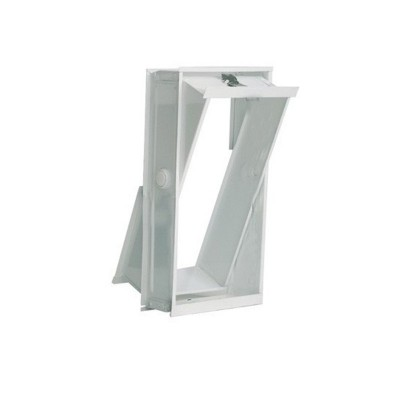 Telaio finestrella apribile vetromattoni vetrocemento 2 posti 19x39X8