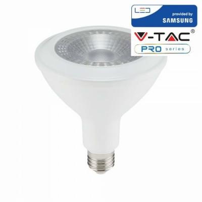 Lampadina Led E27 14W PAR38 SMD Chip Samsung Luce Fredda 6400K V-TAC PRO VT-238 152