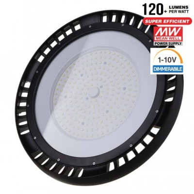 LAMPADE INDUSTRIALI LED 100W SAMSUNG DISCO UFO SHAPE IP65 SMD HIGH BAY 4000K V TAC VT-9-101 562