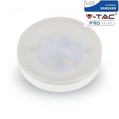 LAMPADINE LED GX53 7W SAMSUNG CHIP DISCO LUCE NATURALE 4000K V-TAC PRO VT-207 223