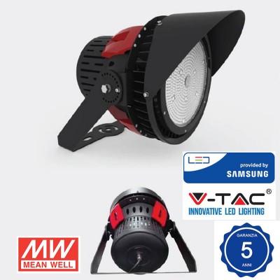 Faro Led 500W IP65 110° Samsung chip sports light smd Dimmerabile Luce Naturale 5000K V TAC VT-501D 493