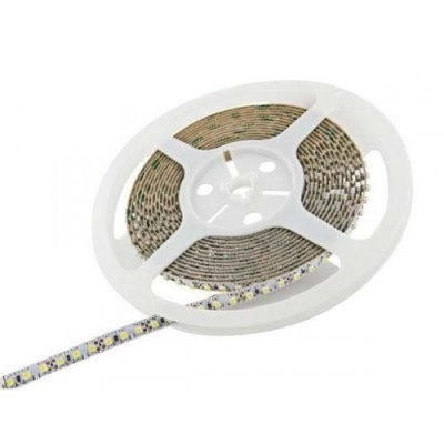 Striscia led monocolore 60 led/m bobina 5 mt  IP20 24V 9W/m 840 lm/m 5050 V Tac 2431/2459/2430