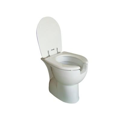 Wc/bidet slim disabili apertura frontale unica soluzione con sedile resina Bocchi
