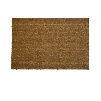 Zerbino tappeto marrone fibra di cocco Classico Maurer 95033 96195